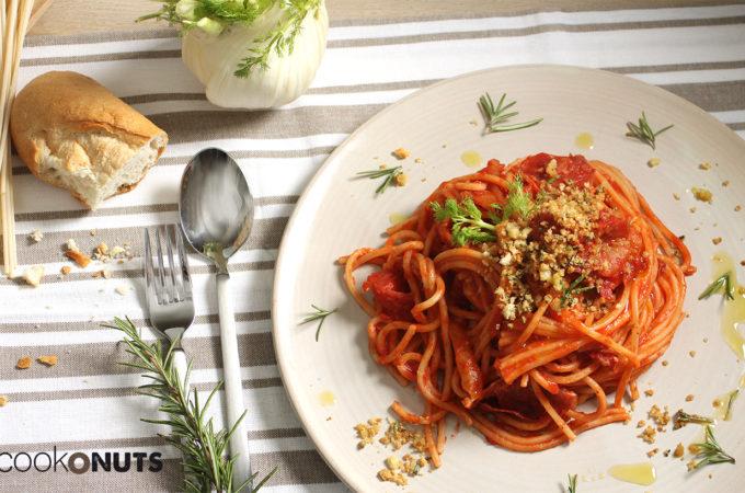 1-Pasta-mit-Fenchel-Salami-Sauce