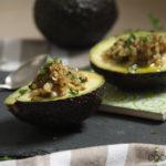 Spanische Tapas: Gefüllte Avocado