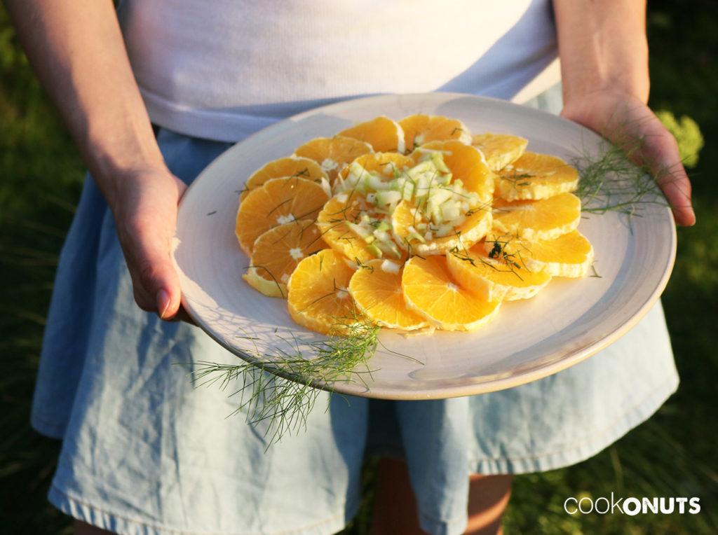 Orangen Fenchel Salat