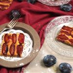 Zwetschkenkuchen mit Kardamon und Mandelmehl