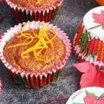 Pumpkin-Zeit! Kürbis Muffin mit Buchweizenmehl