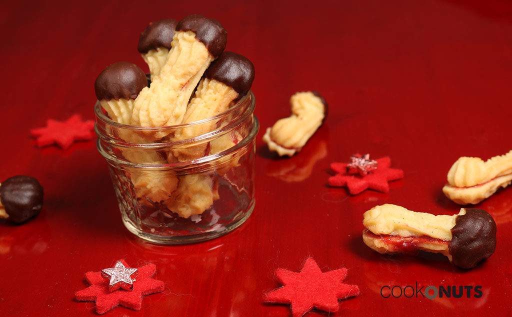 Kekse: Linzer Stangerl