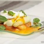 Spargel Toast mit Ei und Pistazienpesto