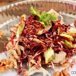 Radicchio Fenchel Salat mit Walnüssen