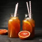 Orangen Vanille Eistee