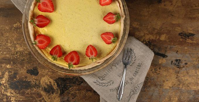 """Cheesecake mit Erdbeeren – ein """"Last-Minute""""-Rezept"""
