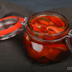 Burger Pickles – Grilled Pepper Pickles