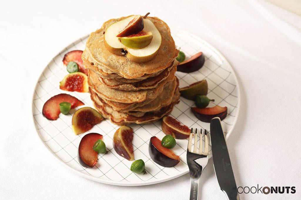 Dinkel-Haferpancakes